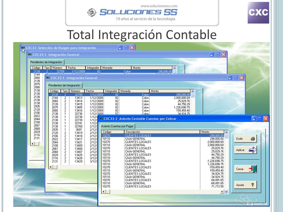 Total Integración Contable