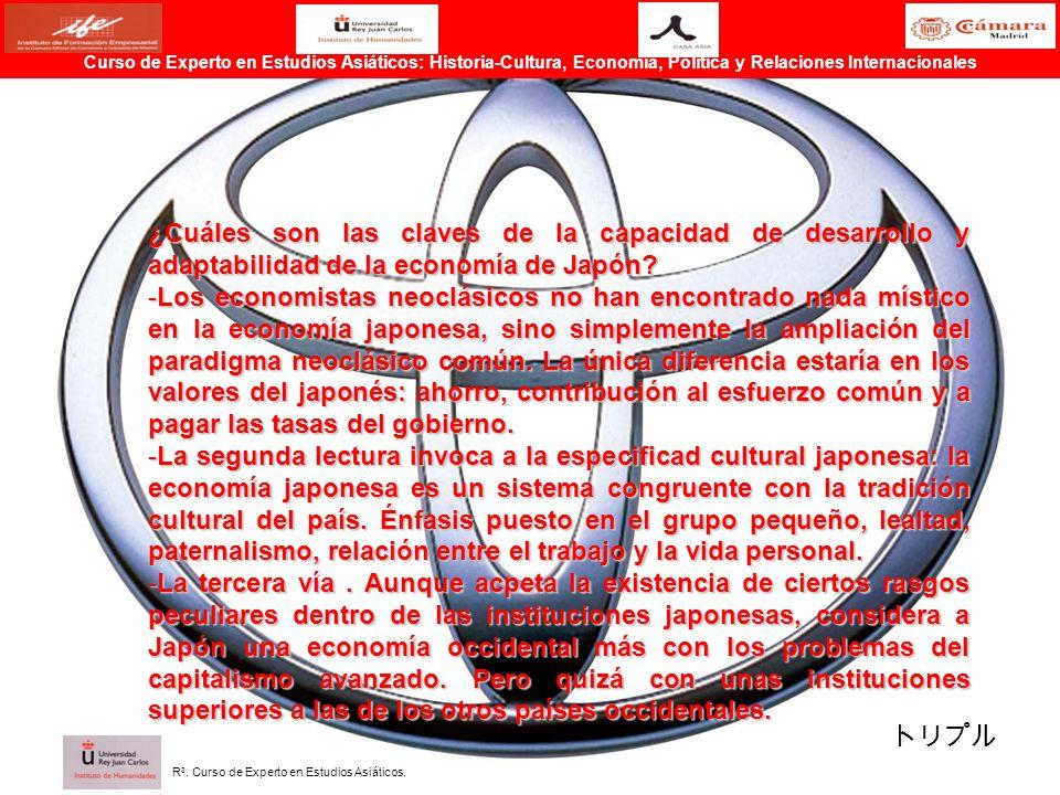 ¿Cuáles son las claves de la capacidad de desarrollo y adaptabilidad de la economía de Japón? -Los economistas neoclásicos no han encontrado nada míst