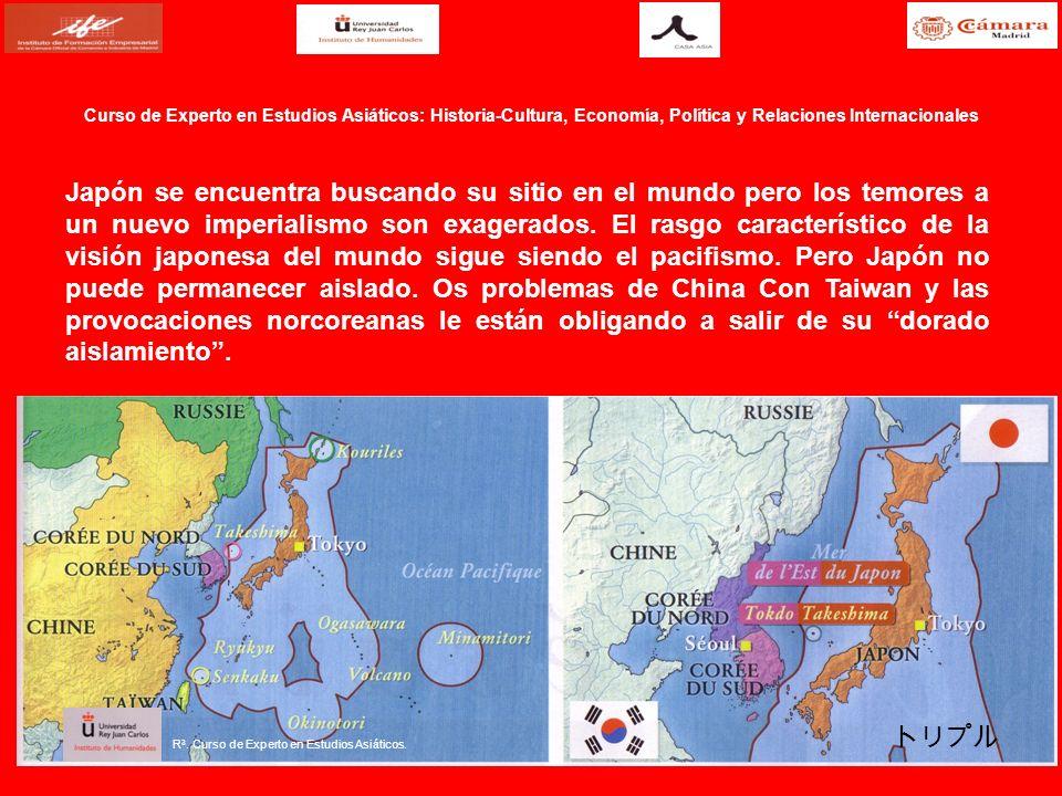 Japón se encuentra buscando su sitio en el mundo pero los temores a un nuevo imperialismo son exagerados. El rasgo característico de la visión japones