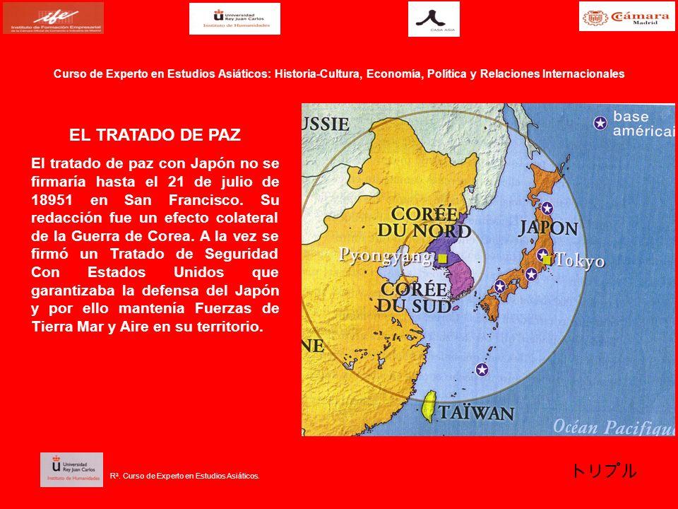 EL TRATADO DE PAZ El tratado de paz con Japón no se firmaría hasta el 21 de julio de 18951 en San Francisco. Su redacción fue un efecto colateral de l