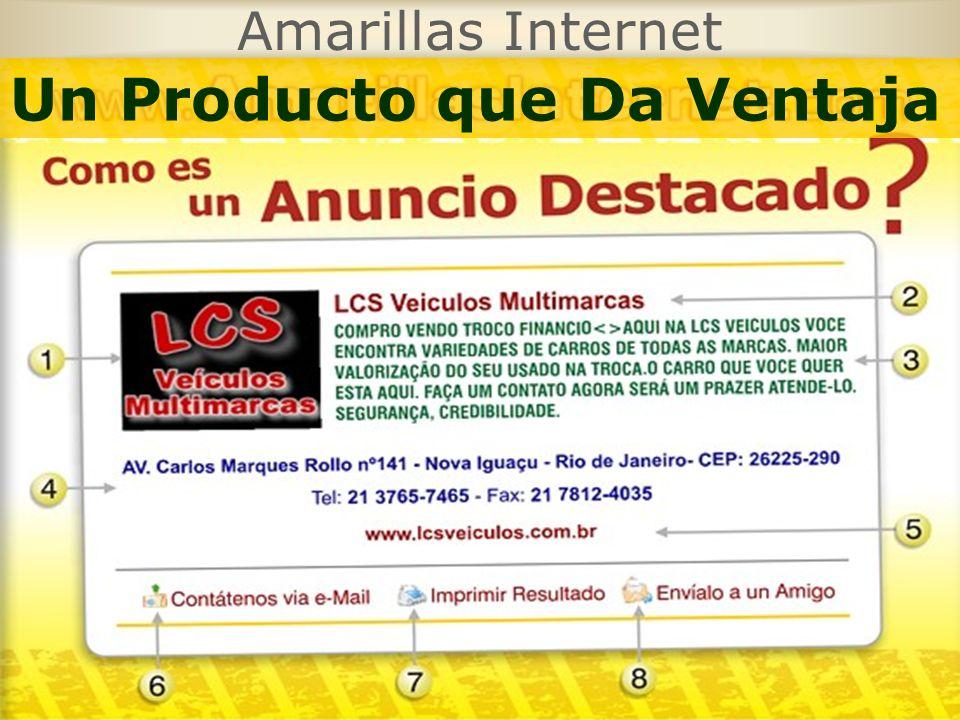 Amarillas Internet Un Producto que Da Ventaja