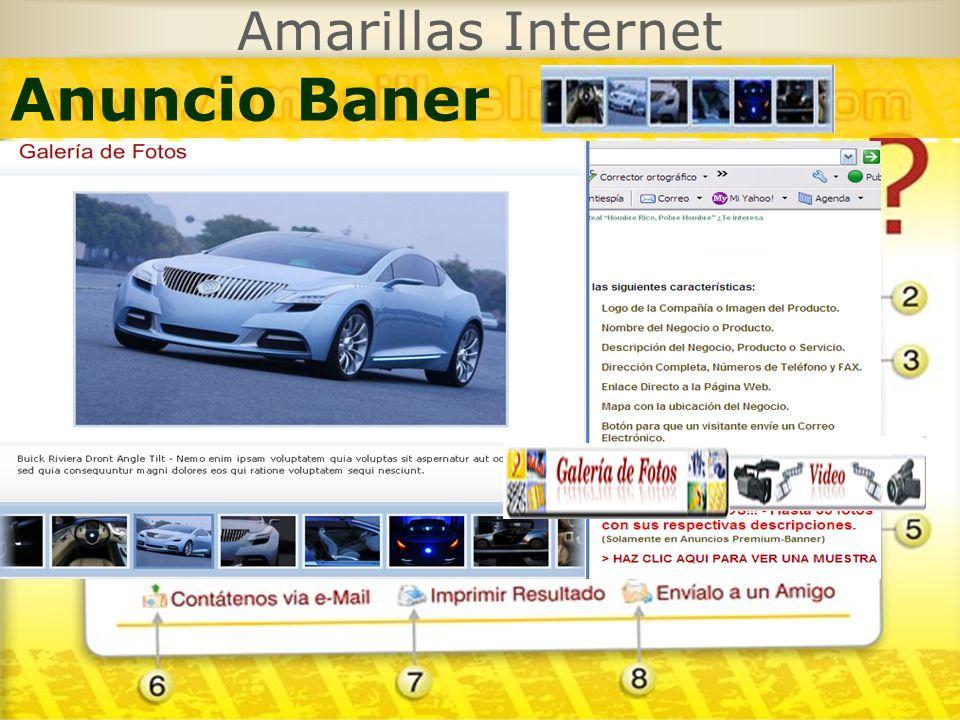 Amarillas Internet Anuncio Baner