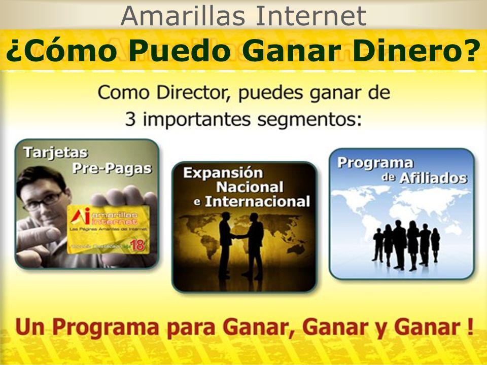 Amarillas Internet ¿Cómo Puedo Ganar Dinero?