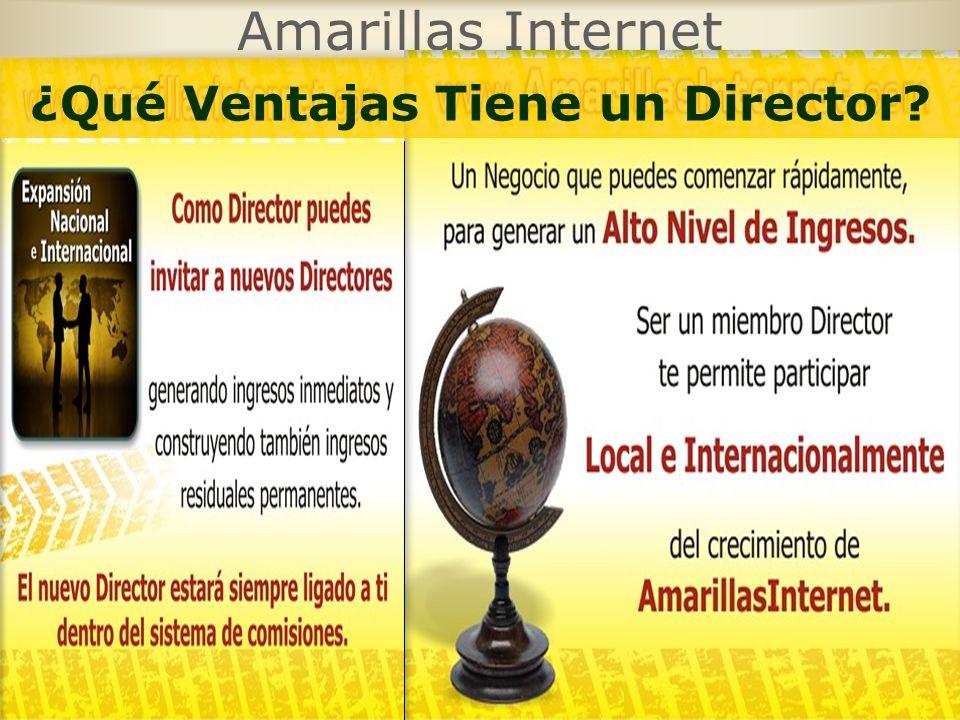Amarillas Internet ¿Qué Ventajas Tiene un Director?