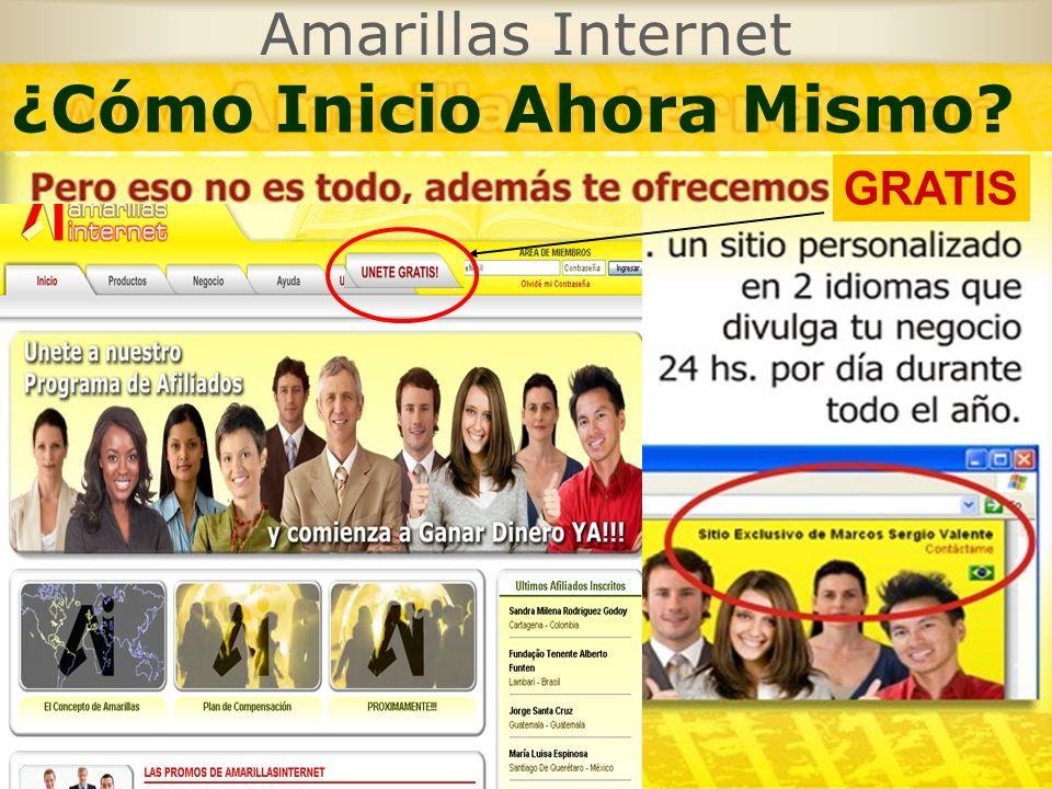 Amarillas Internet GRATIS ¿Cómo Inicio Ahora Mismo?