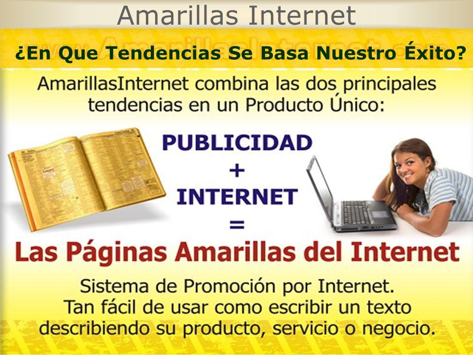 Amarillas Internet ¿En Que Tendencias Se Basa Nuestro Éxito?