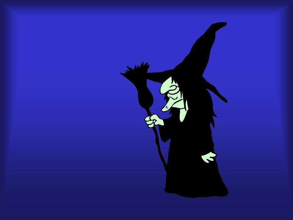 bruja, escoba