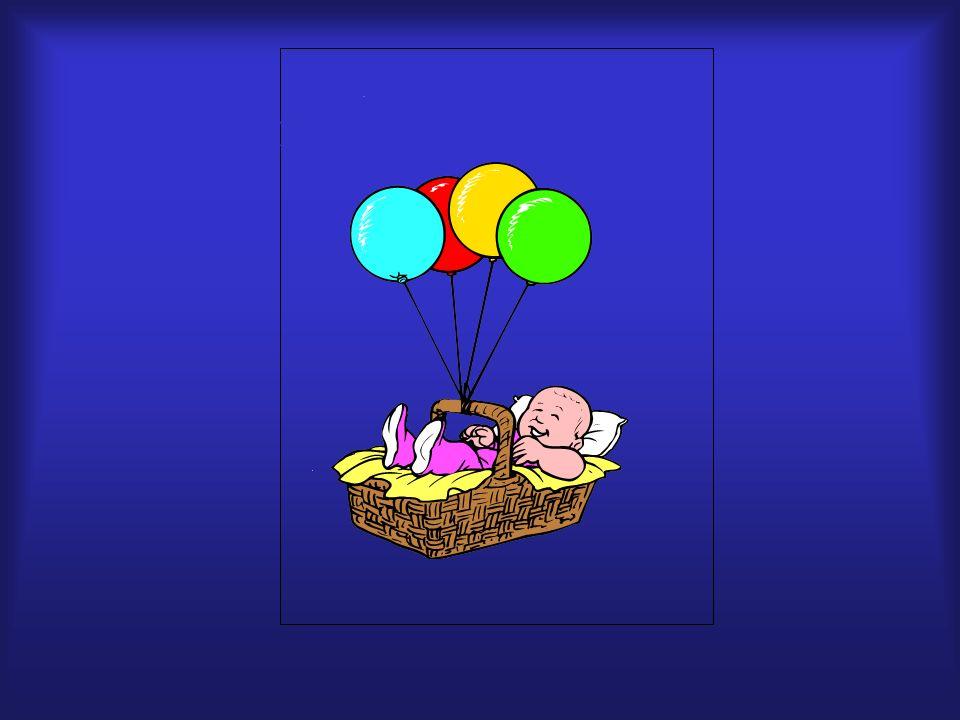 globos, rojo azul, amarillo, cuatro