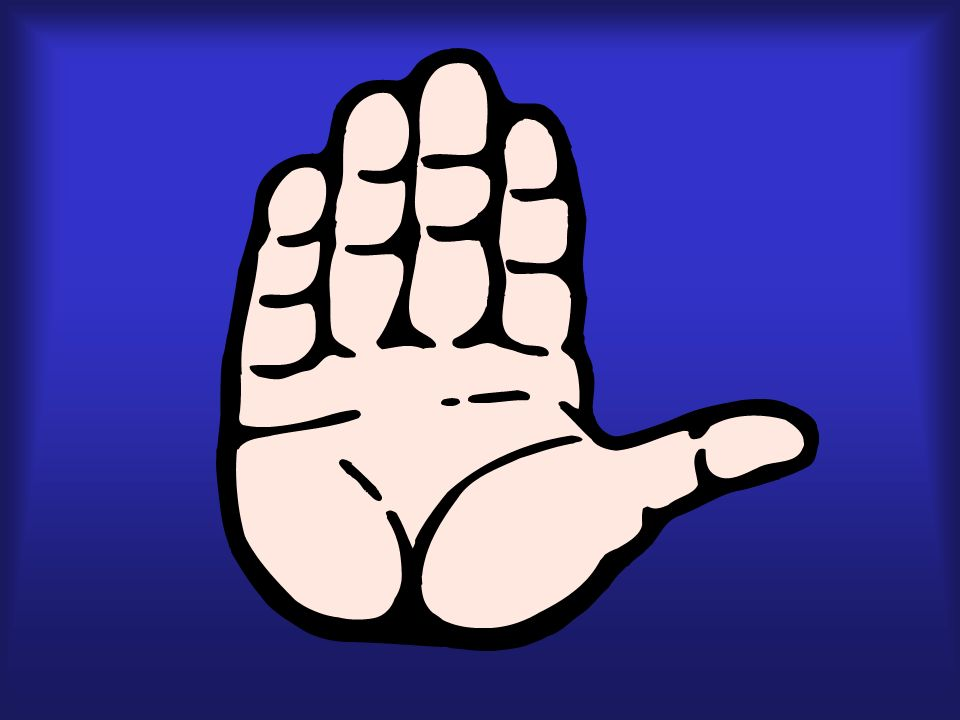dedo, mano