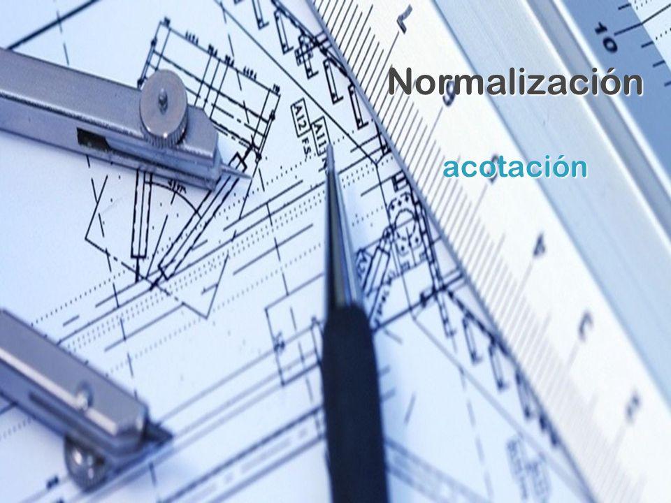 Normalización acotación