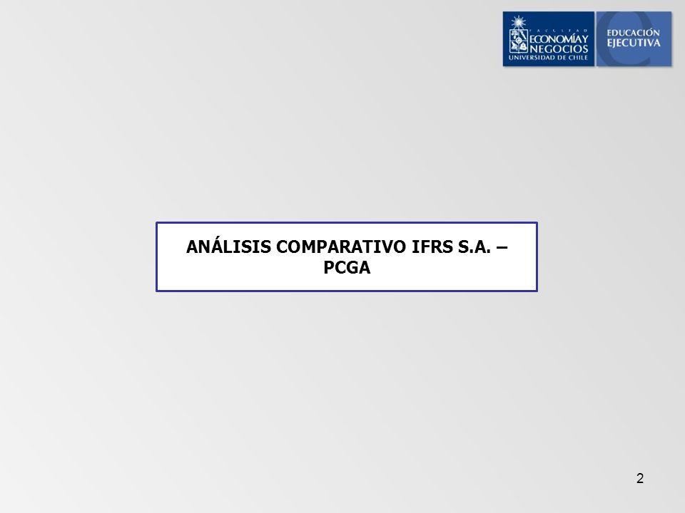 2 ANÁLISIS COMPARATIVO IFRS S.A. – PCGA