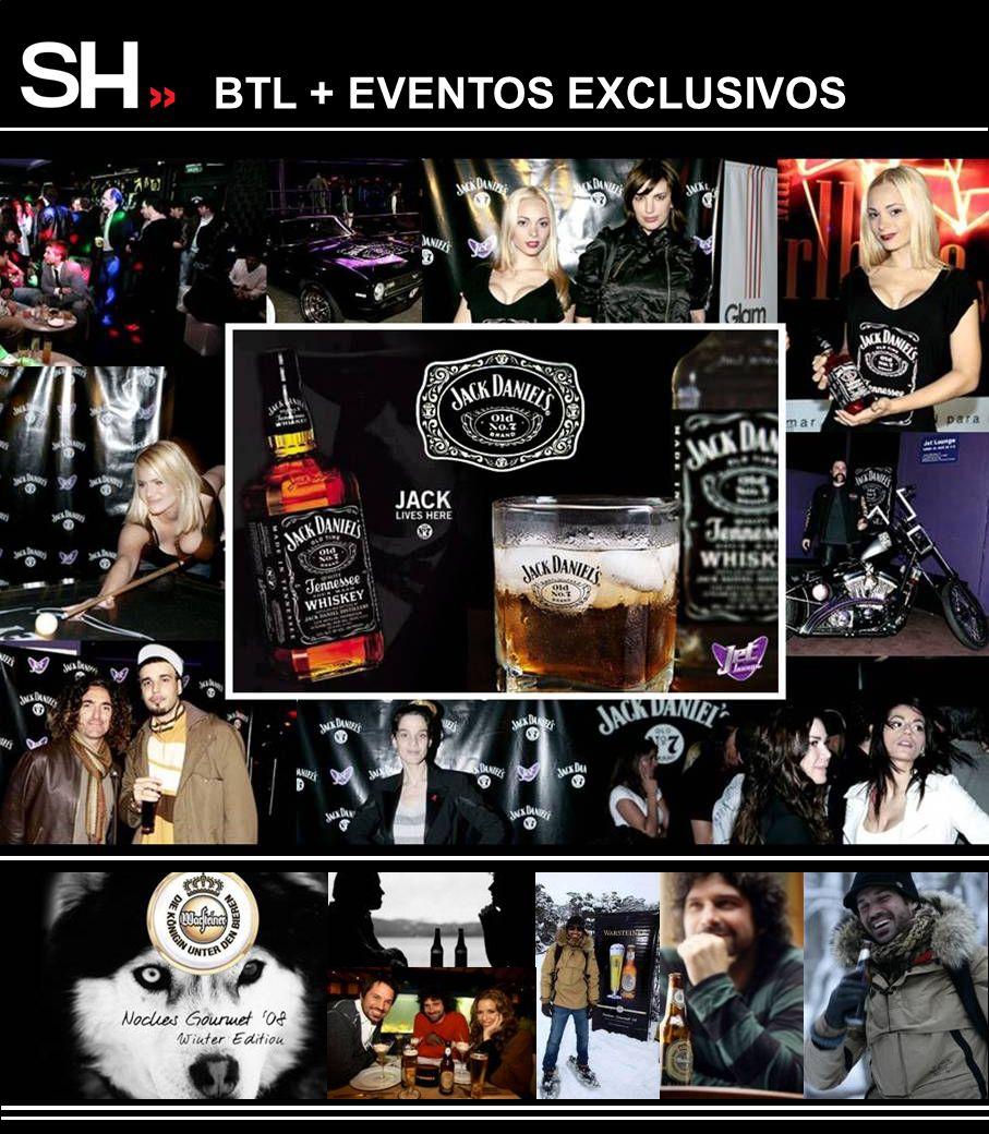 BTL + EVENTOS EXCLUSIVOS