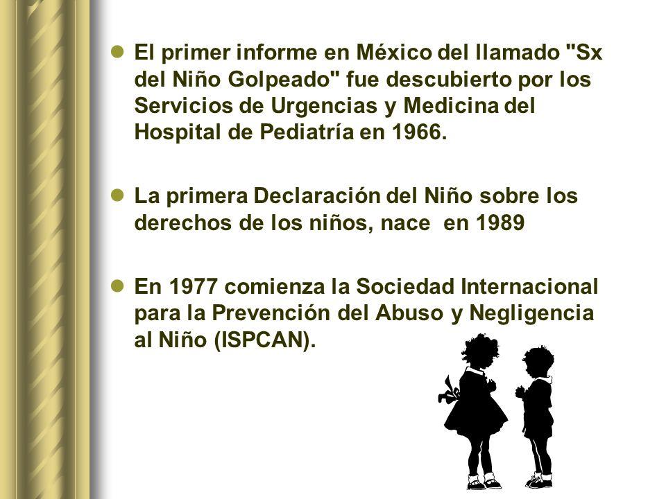 El primer informe en México del llamado