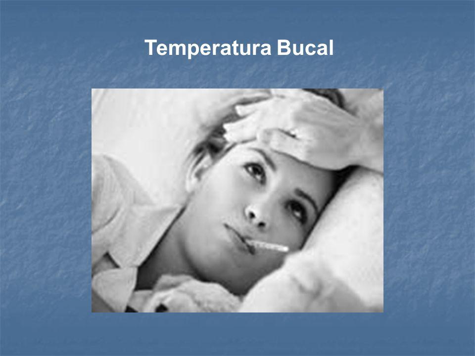 Tiempo(minutos) Tº promedio (ºC) Rango de Tº (ºC) TemperaturaOral337 36,7 – 37,2 TemperaturaAxilar536,5 36,2 – 36,8 TemperaturaRectal337,5 37,2 – 37,8