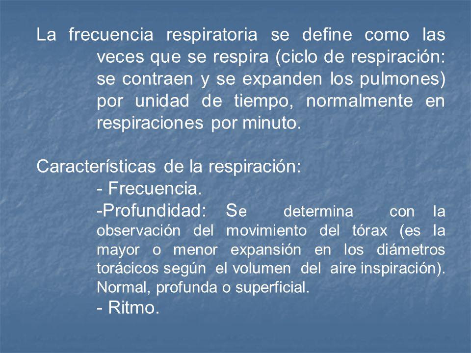 Respiración La respiración tiene la finalidad de suministrar oxígeno a los tejidos y eliminar el dióxido de carbono. La respiración tiene la finalidad