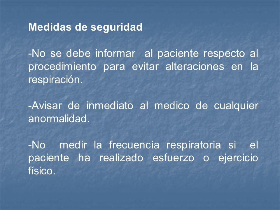 Procedimiento: 1.- Colocar el antebrazo del paciente sobre su tórax. 2.- Sostener con los dedos la muñeca del paciente como si estuviera valorando pul