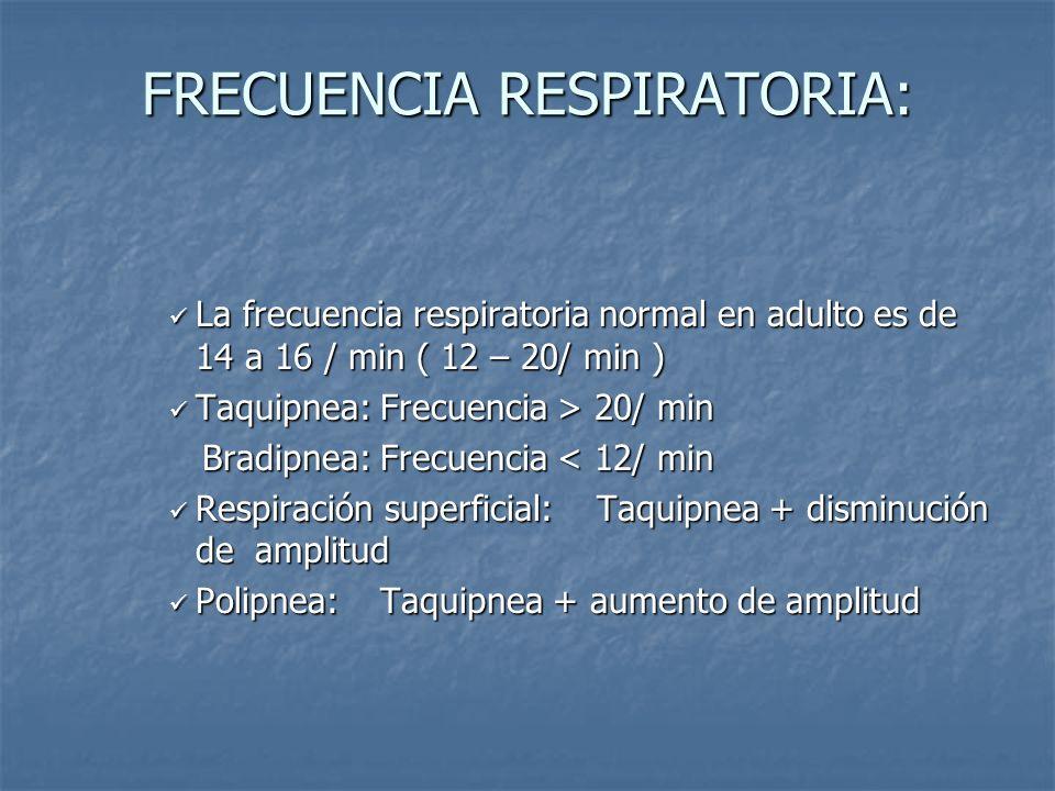 Medidas de seguridad -No se debe informar al paciente respecto al procedimiento para evitar alteraciones en la respiración. -Avisar de inmediato al me