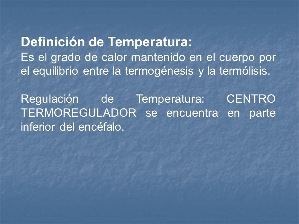 Termogénesis y Termólisis La termogénesis es el calor producido y la termólisis es el calor perdido. Producción de calor: metabolismo basal, actividad