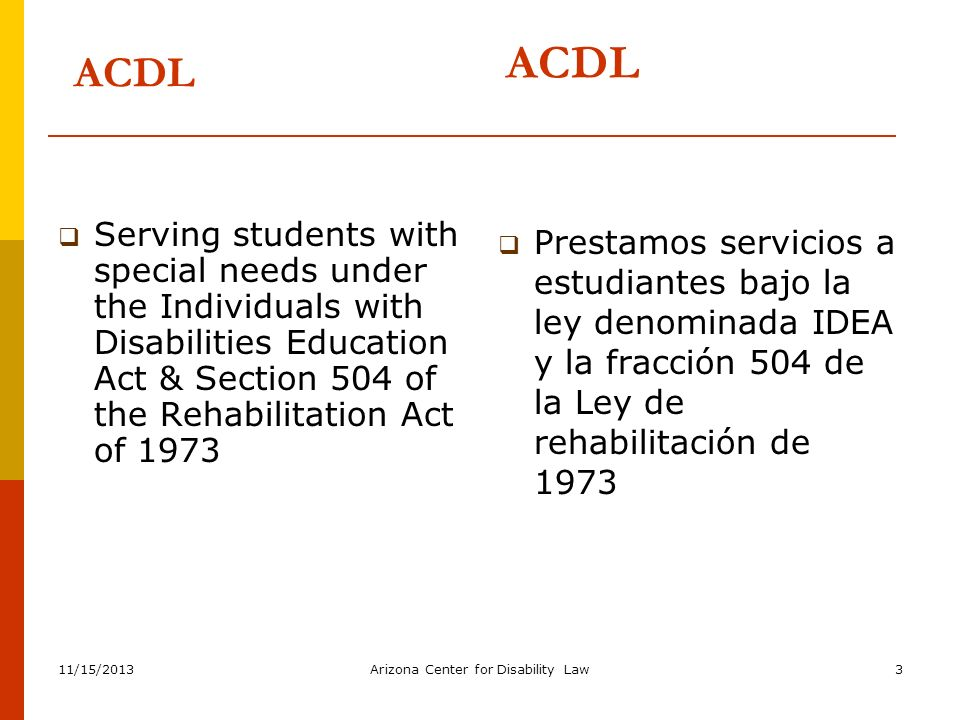 11/15/2013 Arizona Center for Disability Law 54 Special Circumstances Weapon 1.