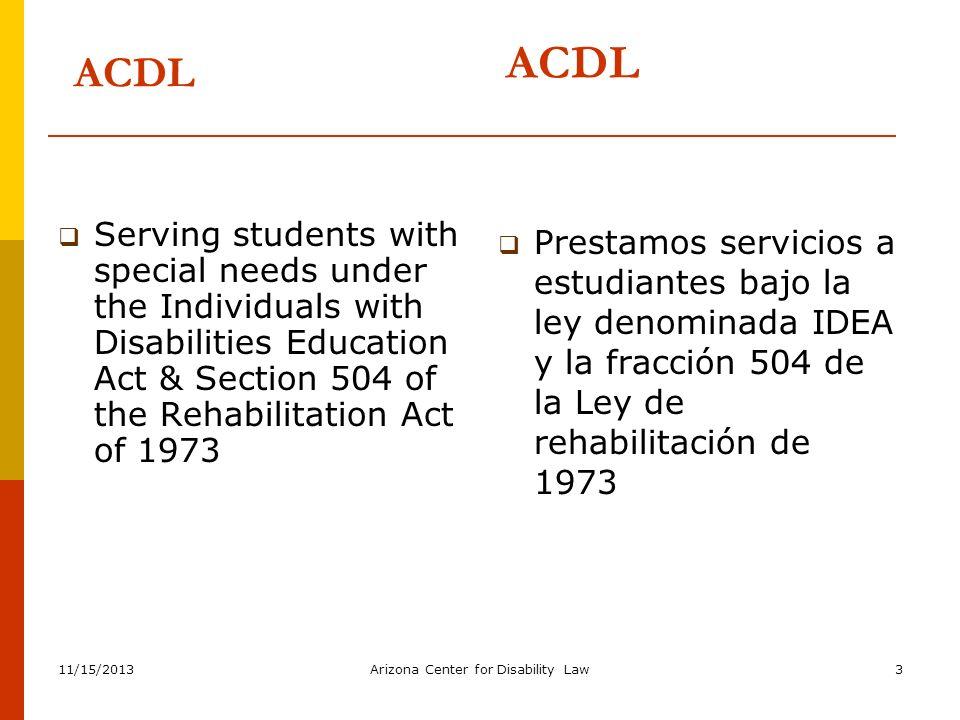Training Information La Instrucción Información The purpose of this training is to provide general information regarding the special education process.
