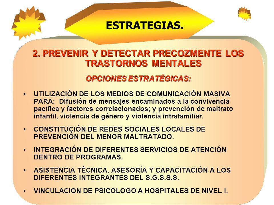 DEPARTAMENTO DE ANTIOQUIA DIRECCION SECCIONAL DE SALUD Lineamientos para una Política de Salud Mental con Participación Interinstitucional