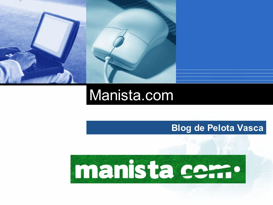 Company LOGO Blog de Pelota Vasca Manista.com