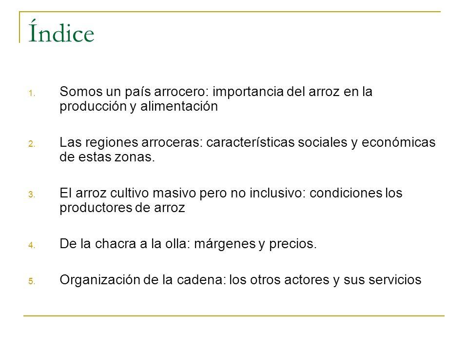 4. De la chacra a la olla: los precios en San Martín y Lima