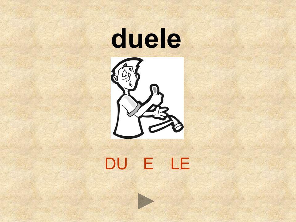 DUELE duele