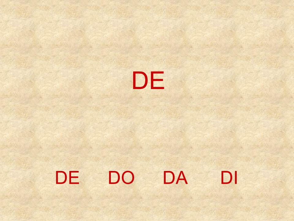 DEDO DINEUO D E _ _