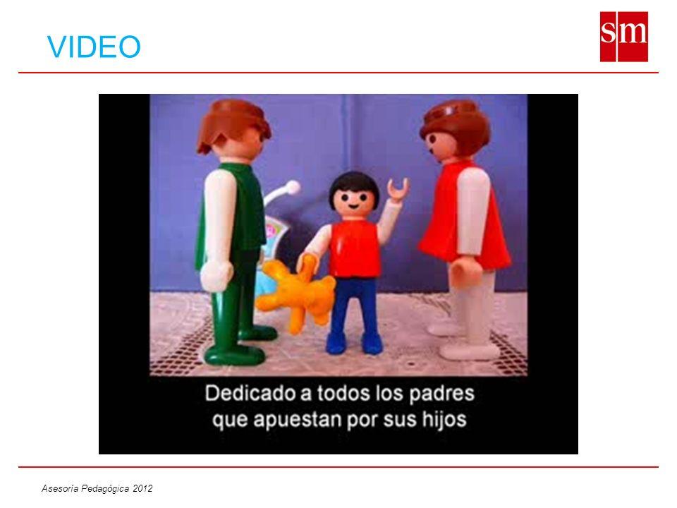 Asesoría Pedagógica 2012 VIDEO
