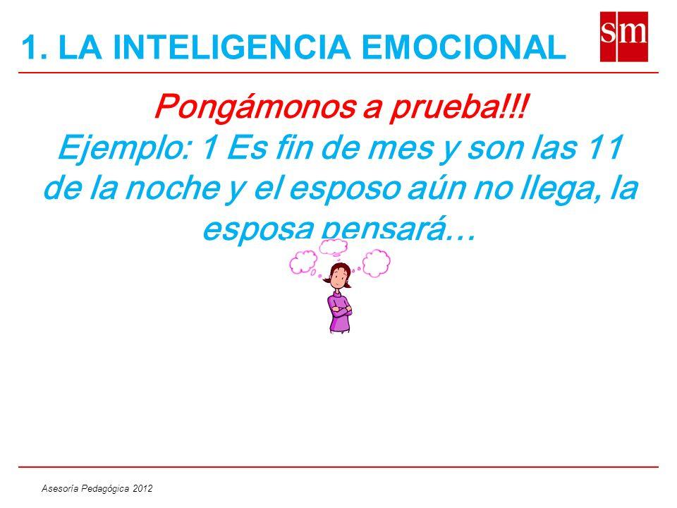Asesoría Pedagógica 2012 RECONOCIENDO A NUESTROS HIJOS 3