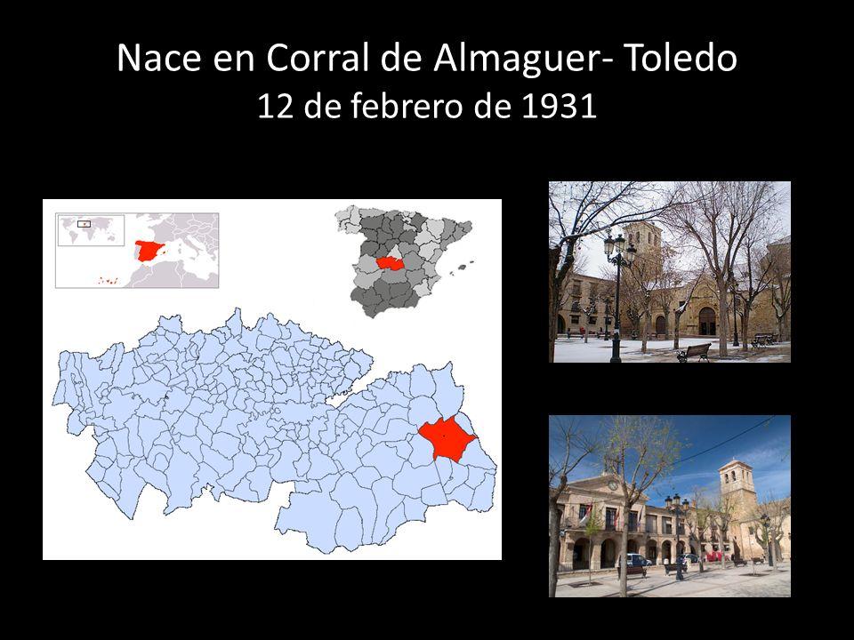 Entra al Seminario Menor de Madrid en 1944 a la edad de 13 años Es ordenado sacerdote el 26 de mayo de 1956 a la edad de 25 años