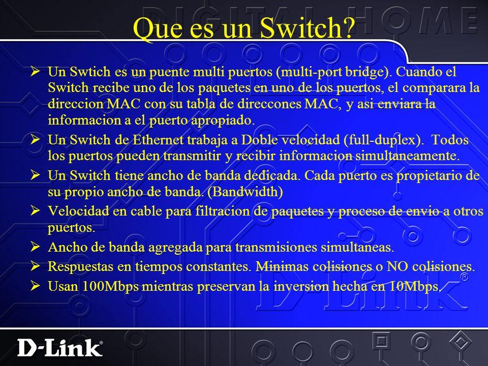 La maxima distancia en un segmento de par trensado (la distancia desde un puerto en un hub a una direccion de un aparato de red tal como un PC, Servidor o Ethernet Switch) es 100Mts.