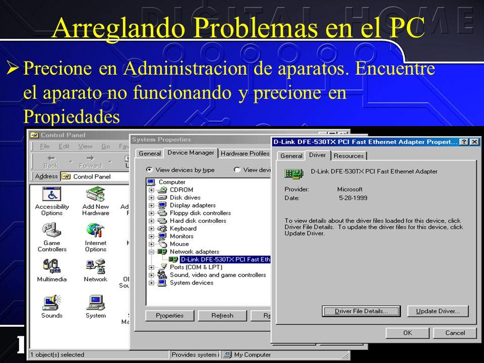 Arreglando Problemas en el PC Luego a el Sistema