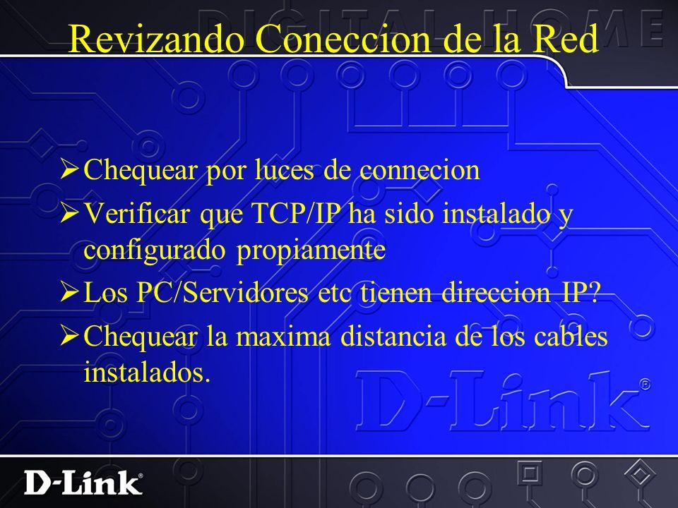 Resolviendo conflictos IRQ para tarjetas ISA C. Verificar que el driver y TCP/IP han sido instalados. D. Precione OK. Precione Aceptar y reiniciar.