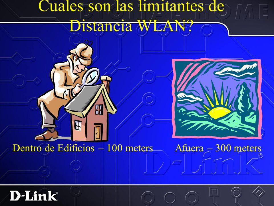 Cual es la Velocidad de Datos de unaWLAN? IEEE ratifico las especificaciones originales del 802.11 en 1997 como el ESTANDAR para redes inalambricas. E