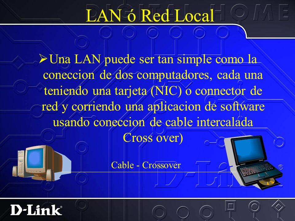 LAN-Hubs ( Concentradores ) DSH-8 Dual Speed Hub DSS-8 Switch Hubs y Switches son usados para conectar multiples PCs o aparatos de red para que haya l