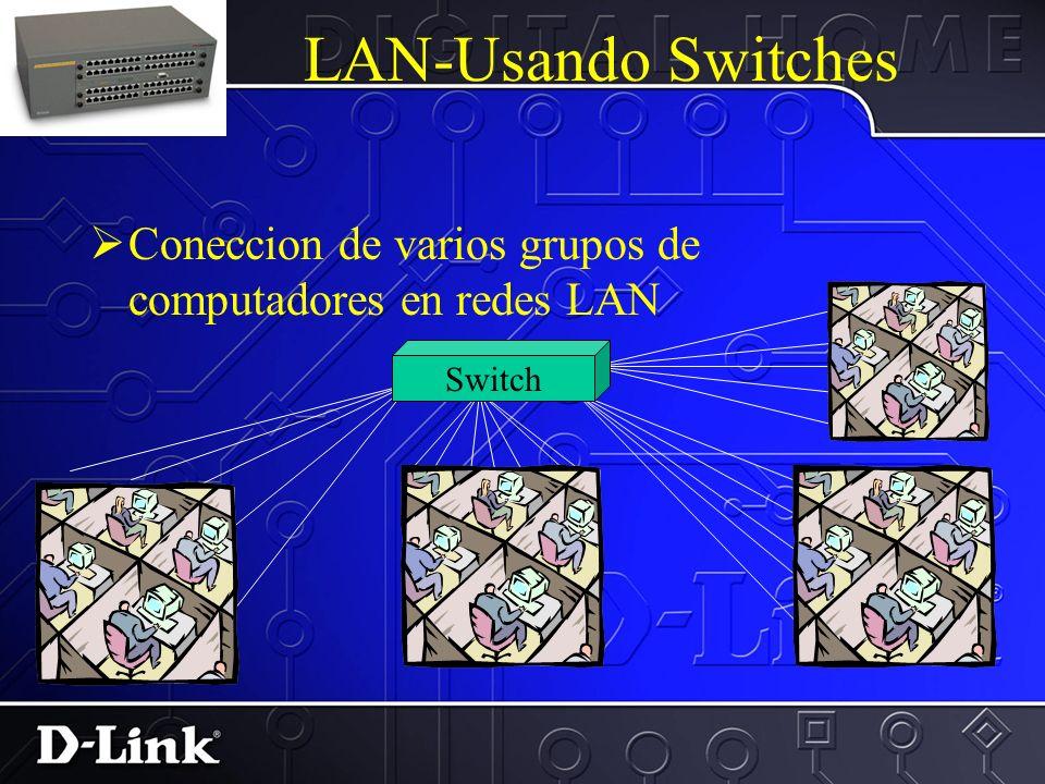 LAN-Usando Hubs Coneccion de los PCs en una Red para pequeñas o medianas empresas Hub