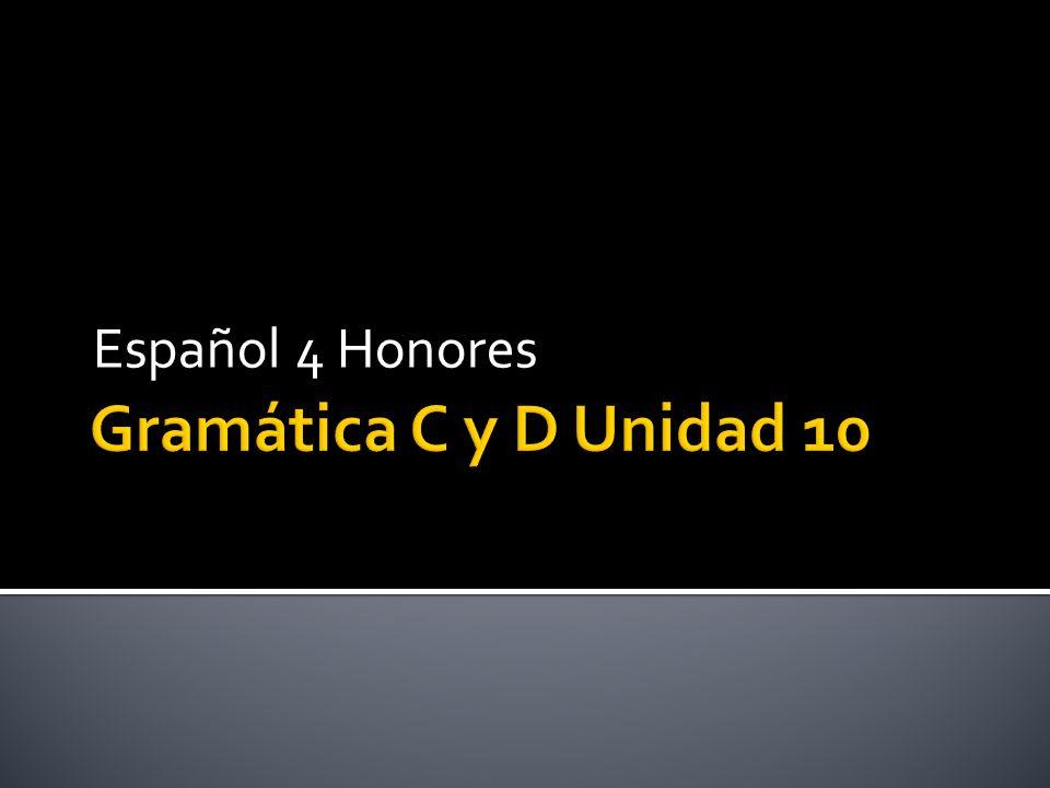 Gramática C