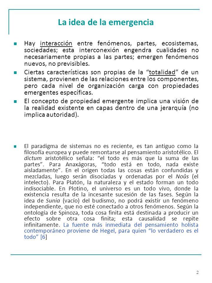 103 Metodología VSM Segunda etapa: Diseño de autonomía (Walker, 2001) Crear condiciones para que el Sistema 1 funcione con la mayor autonomía posible.
