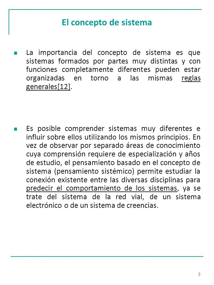 16 Características de los sistemas abiertos f.