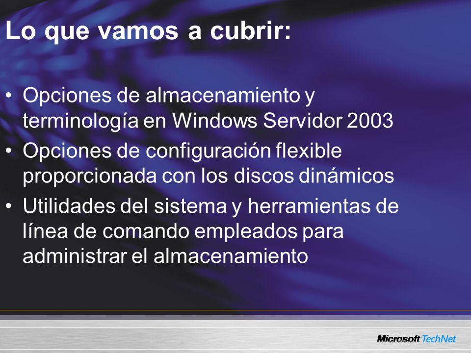 Conocimientos previos Nivel 200 Experiencia en administrar servidores Windows Servidor 2003 Experiencia en brindar soporte a usuarios finales