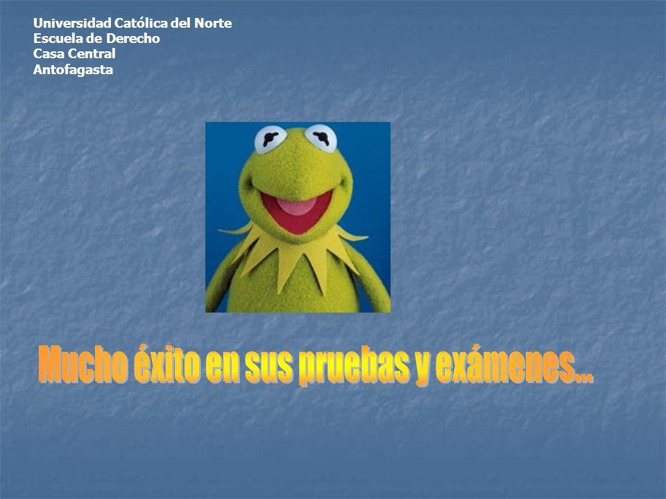 Universidad Católica del Norte Escuela de Derecho Casa Central Antofagasta