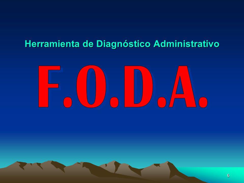6 Herramienta de Diagnóstico Administrativo