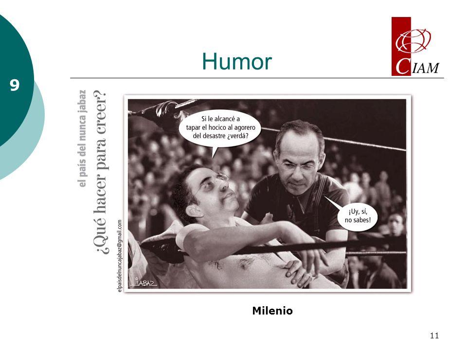 11 Humor 9 Milenio