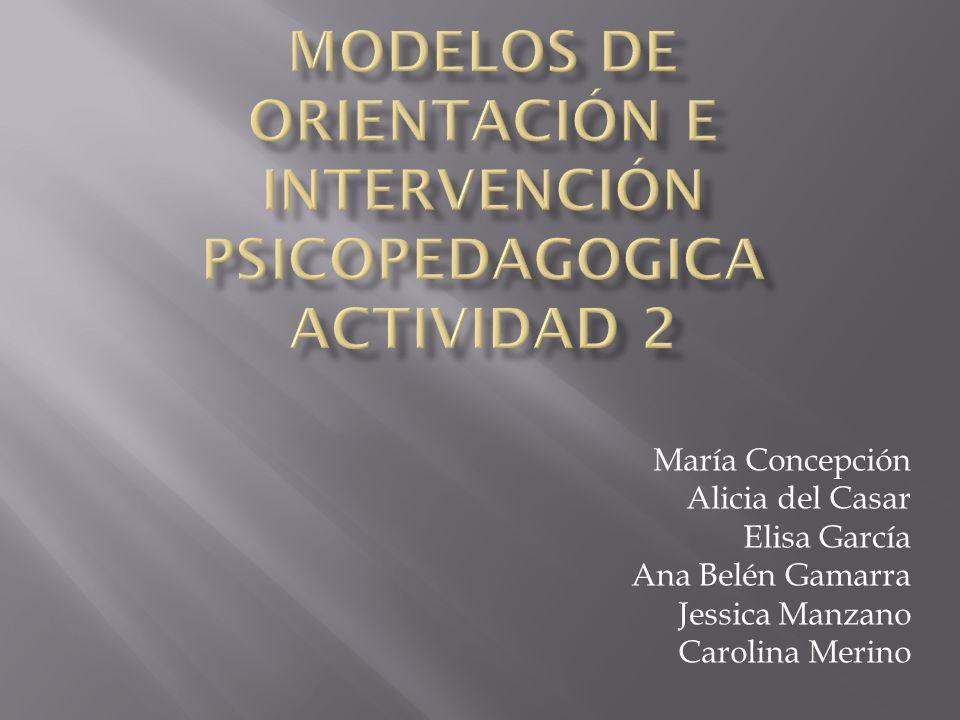 María Concepción Alicia del Casar Elisa García Ana Belén Gamarra Jessica Manzano Carolina Merino