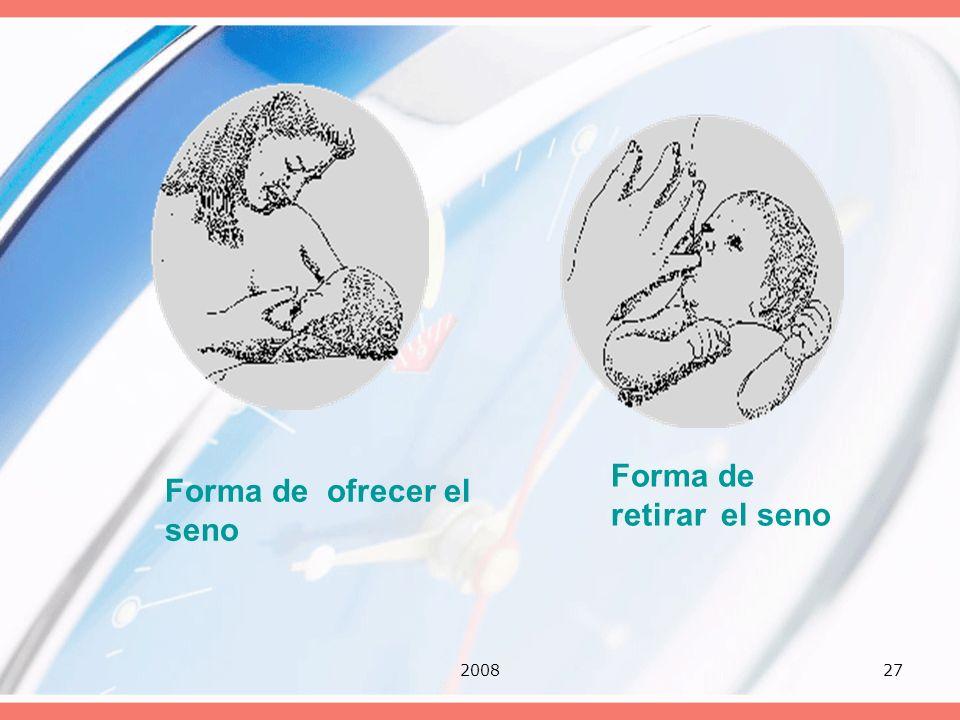 200827 Forma de retirar el seno Forma de ofrecer el seno