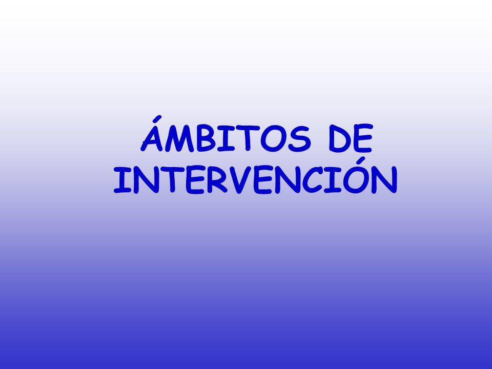 El Departamento de Orientación centra toda su actuación en cuatro ámbitos de intervención: La orientación del proceso de Enseñanza- Aprendizaje La orientación para el desarrollo de la carrera La orientación para la prevención y el desarrollo humano La orientación de la necesidades educativas