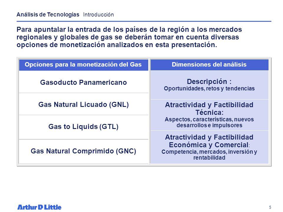 4 Como parte del proceso de convertirse en un jugador de importancia en la Región Andina y Caribe hay varios desarrollos de exportación de gas en Boli
