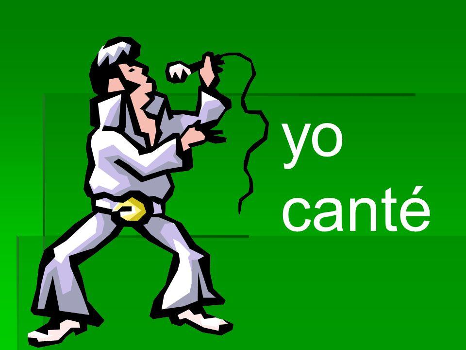 CANT É I sang